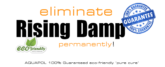 Your Rising Damp Problem - CURED - PERMANENTLY - GUARANTEED